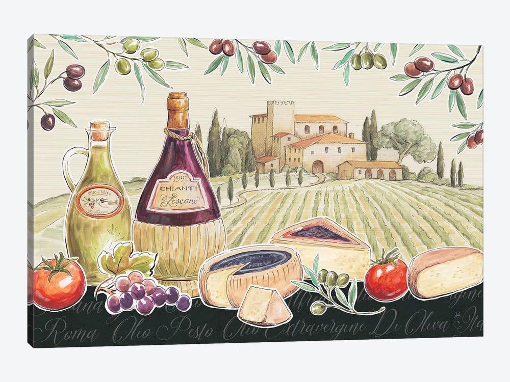 Tuscan Flavor I by Daphne Brissonnet 1-piece Art Print