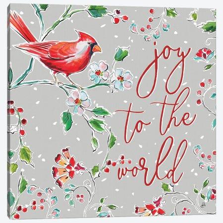 Holiday Wings V Canvas Print #DAB68} by Daphne Brissonnet Canvas Artwork