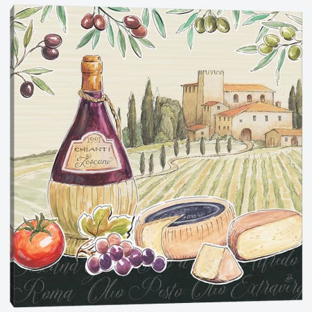 Tuscan Flavor II Canvas Print #DAB6} by Daphne Brissonnet Canvas Art