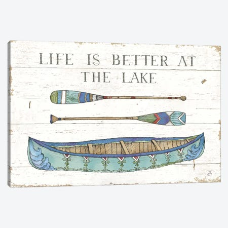 Lake Sketches II Color 3-Piece Canvas #DAB78} by Daphne Brissonnet Art Print