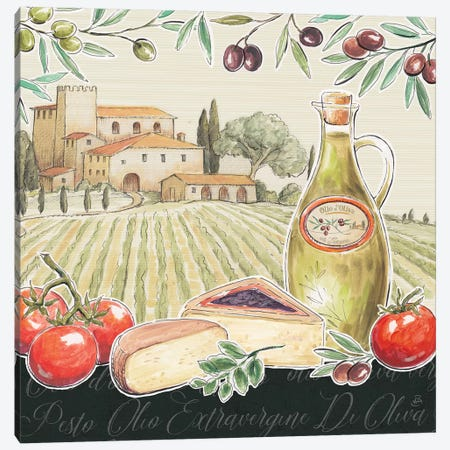 Tuscan Flavor III Canvas Print #DAB7} by Daphne Brissonnet Canvas Art