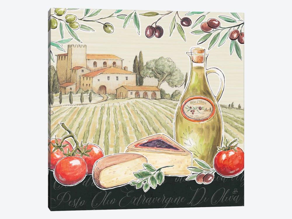 Tuscan Flavor III by Daphne Brissonnet 1-piece Canvas Print