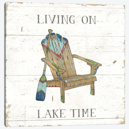 Lake Sketches IV Color Canvas Print #DAB80} by Daphne Brissonnet Canvas Artwork