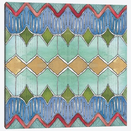 Lake Sketches Pattern VC Canvas Print #DAB81} by Daphne Brissonnet Canvas Art