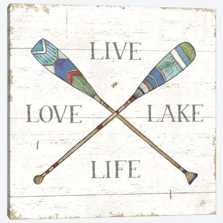 Lake Sketches VI Color Canvas Print #DAB83} by Daphne Brissonnet Canvas Wall Art