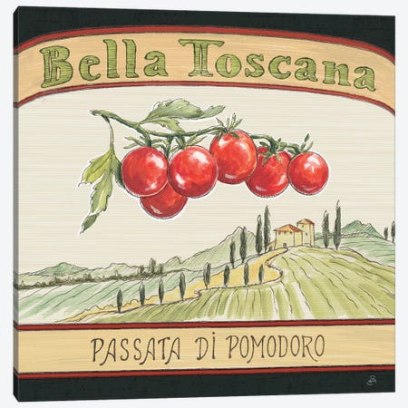 Tuscan Flavor V Canvas Print #DAB9} by Daphne Brissonnet Canvas Print