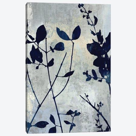 Nature Blue Silhouette I 3-Piece Canvas #DAC104} by Danielle Carson Canvas Print