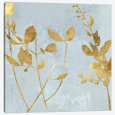 Nature Gold on Blue Canvas Print #DAC106} by Danielle Carson Canvas Print