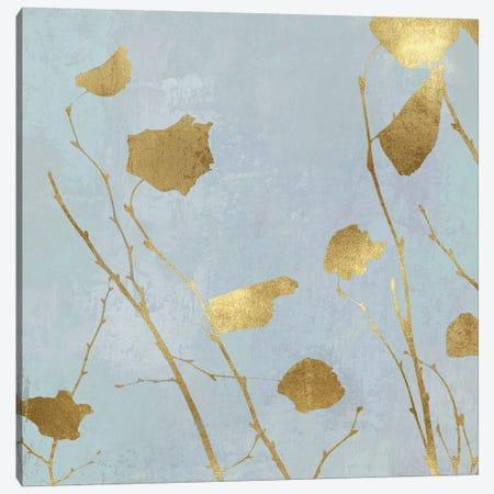 Nature Gold on Blue I Canvas Print #DAC107} by Danielle Carson Art Print