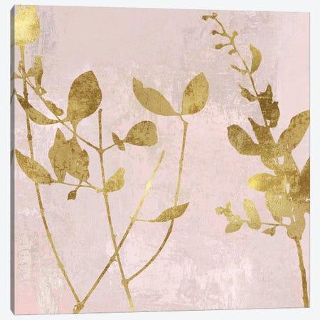 Nature Gold on Pink Blush II Canvas Print #DAC110} by Danielle Carson Canvas Print