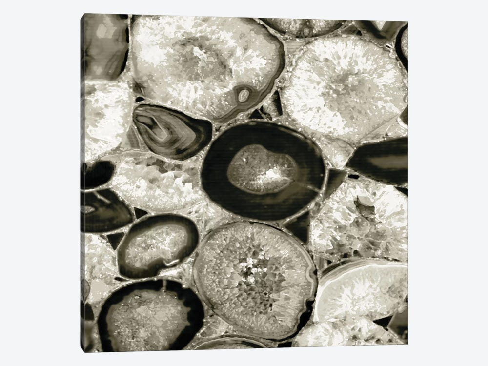 Agate In Pewter I by Danielle Carson 1-piece Art Print