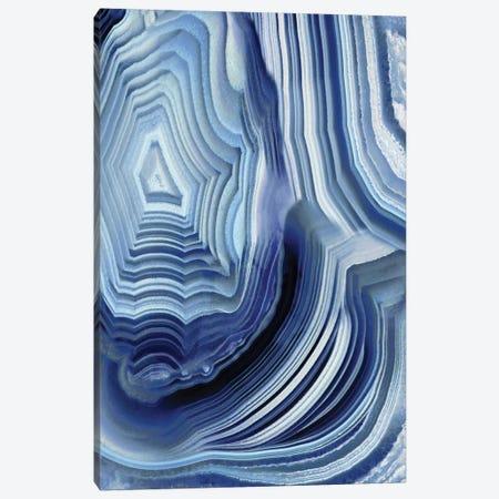 Agate Indigo I Canvas Print #DAC17} by Danielle Carson Art Print