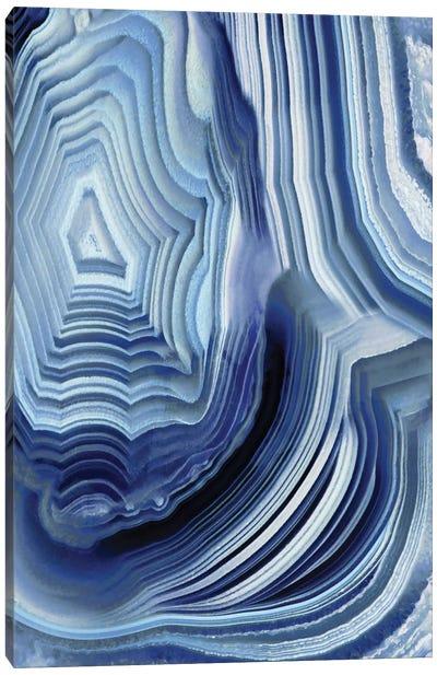 Agate Indigo I Canvas Art Print