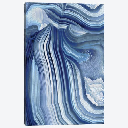 Agate Indigo II Canvas Print #DAC18} by Danielle Carson Canvas Art