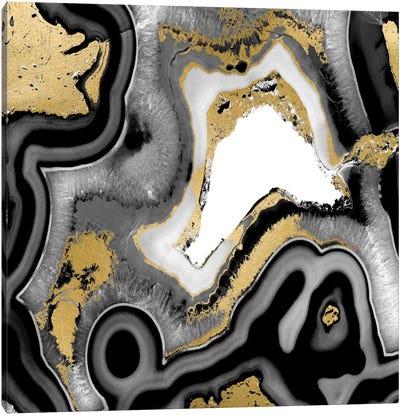 Agate Noir I Canvas Print #DAC19
