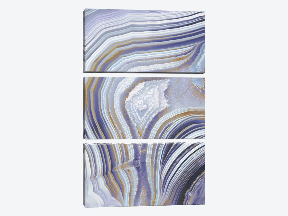Agate Flow I by Danielle Carson 3-piece Canvas Art