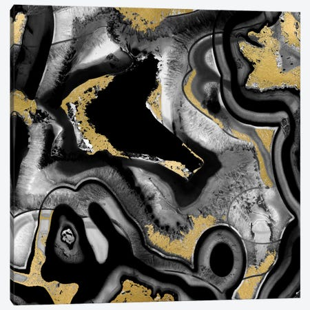 Agate Noir II Canvas Print #DAC20} by Danielle Carson Canvas Art Print