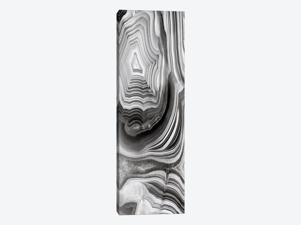 Agate Panel Grey I 1-piece Canvas Art