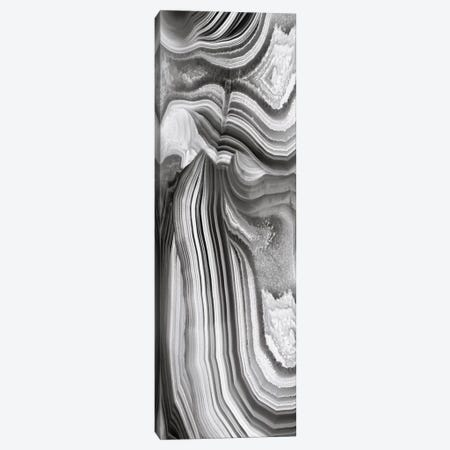 Agate Panel Grey II Canvas Print #DAC22} by Danielle Carson Art Print