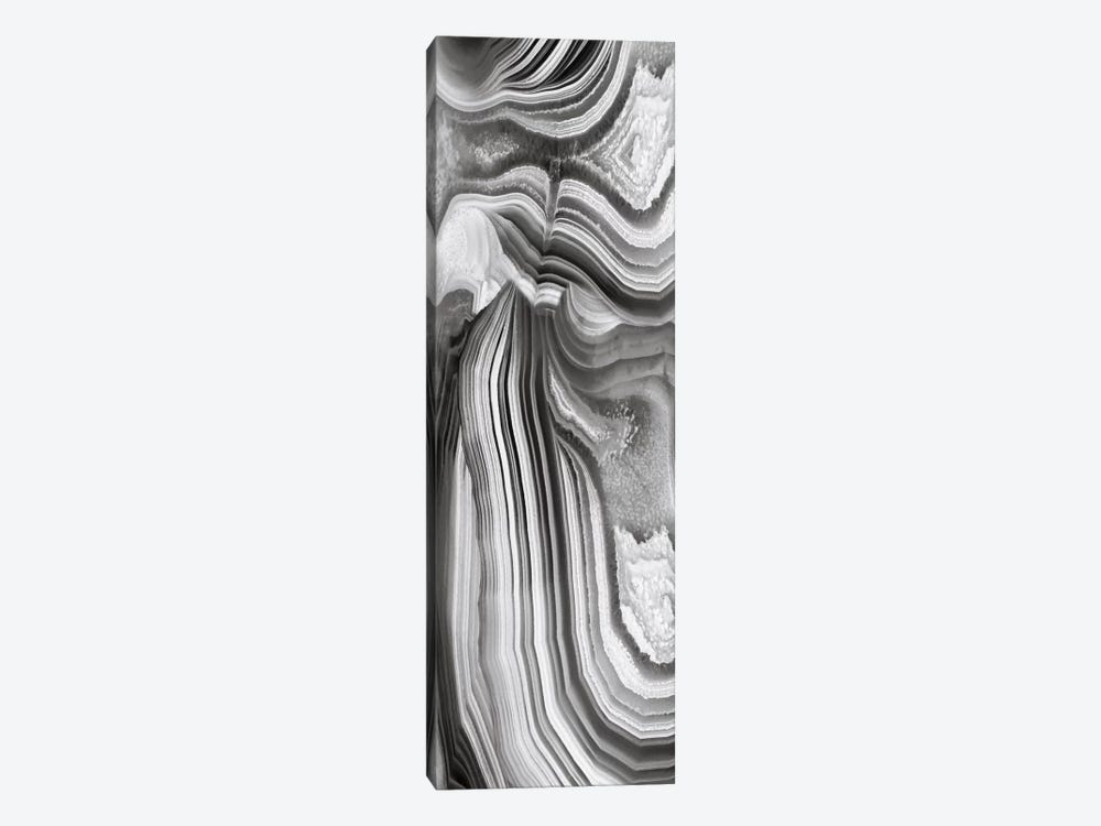 Agate Panel Grey II by Danielle Carson 1-piece Canvas Print