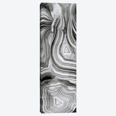 Agate Panel Grey III Canvas Print #DAC23} by Danielle Carson Canvas Art Print