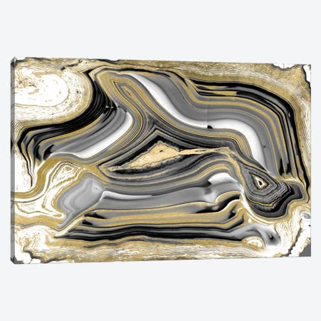 Elegant Agate I Canvas Print #DAC24} by Danielle Carson Canvas Artwork