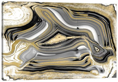 Elegant Agate I Canvas Print #DAC24