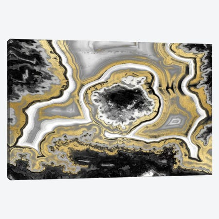 Elegant Agate II Canvas Print #DAC25} by Danielle Carson Canvas Art