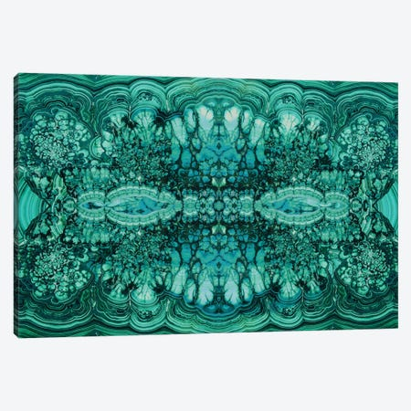 Majestic Malachite Canvas Print #DAC26} by Danielle Carson Canvas Wall Art