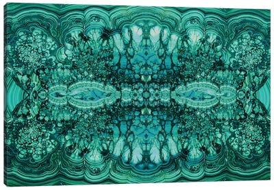 Majestic Malachite Canvas Art Print