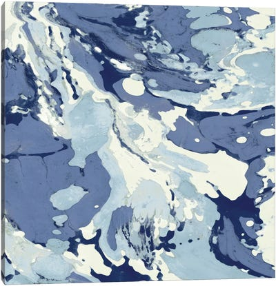 Marbleized I Canvas Art Print