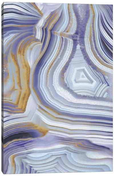 Agate Flow II Canvas Art Print