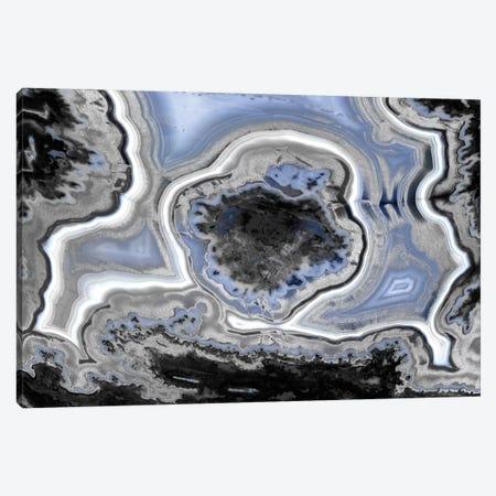 Steel Blue Agate Canvas Print #DAC38} by Danielle Carson Canvas Art