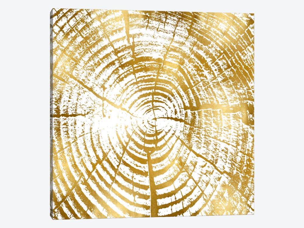 Chipped Gold I 1-piece Canvas Art