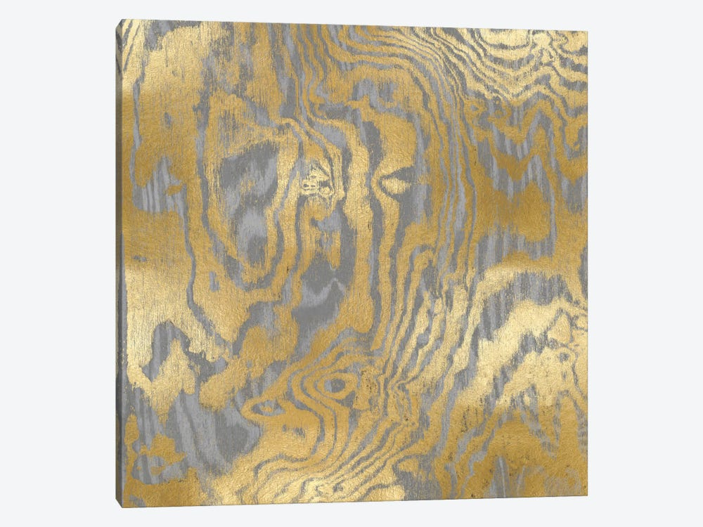 Gold Variations III by Danielle Carson 1-piece Canvas Wall Art