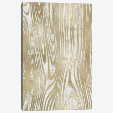 Gold Wood Grain I Canvas Print #DAC49} by Danielle Carson Canvas Print