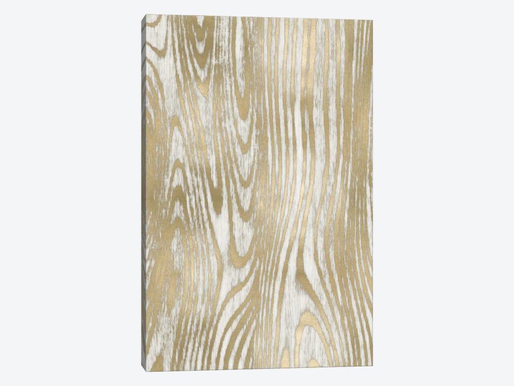Gold Wood Grain I by Danielle Carson 1-piece Canvas Wall Art