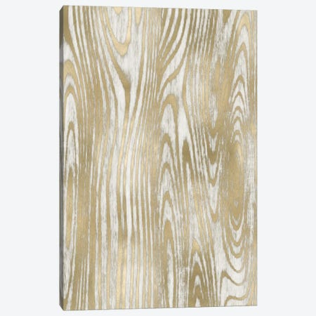 Gold Wood Grain II Canvas Print #DAC50} by Danielle Carson Canvas Artwork