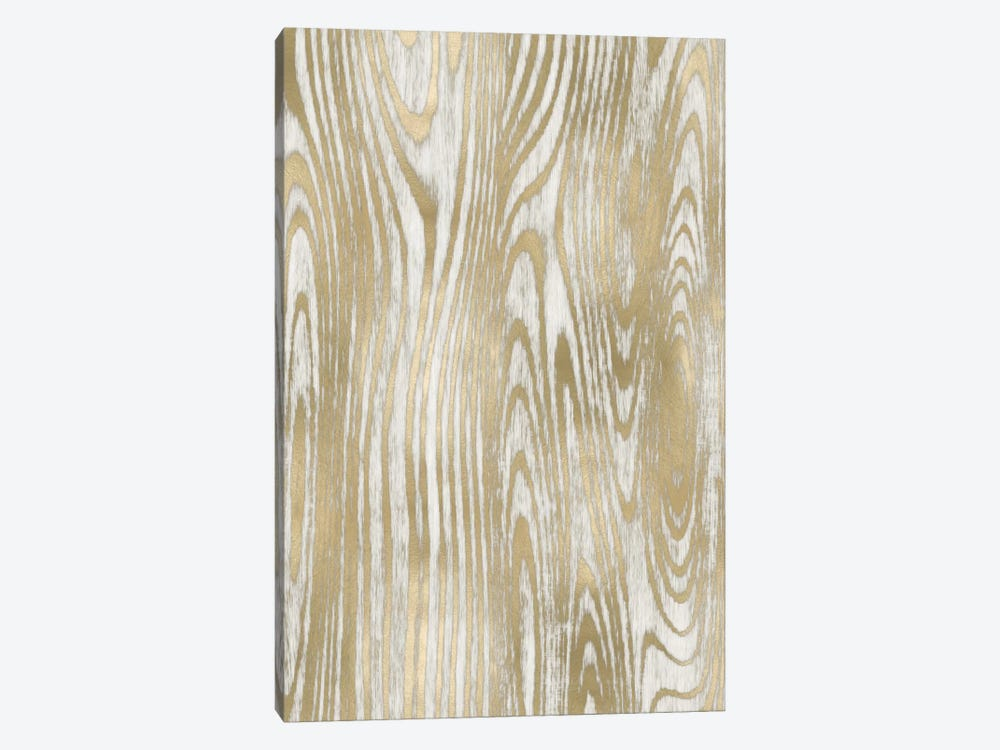 Gold Wood Grain II by Danielle Carson 1-piece Canvas Art