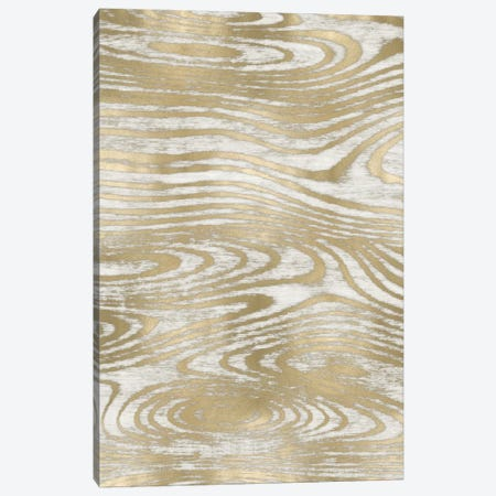 Gold Wood Grain III Canvas Print #DAC51} by Danielle Carson Canvas Wall Art