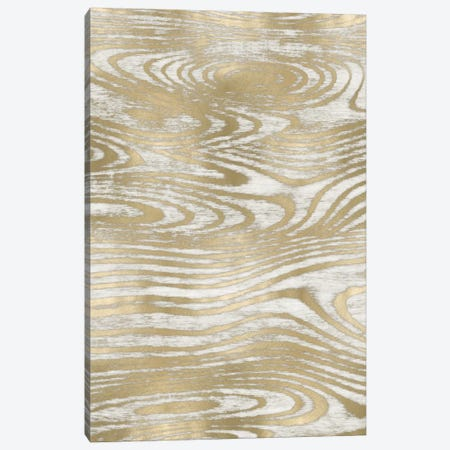 Gold Wood Grain IV Canvas Print #DAC52} by Danielle Carson Canvas Art