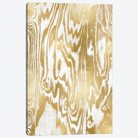 Golden Movement I Canvas Print #DAC53} by Danielle Carson Canvas Artwork