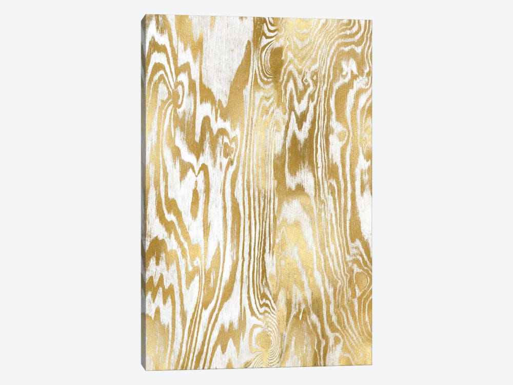 Golden Movement II by Danielle Carson 1-piece Canvas Wall Art