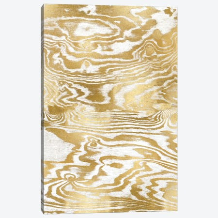 Golden Movement III Canvas Print #DAC55} by Danielle Carson Art Print