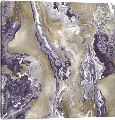Onyx Amethyst Canvas Art Print