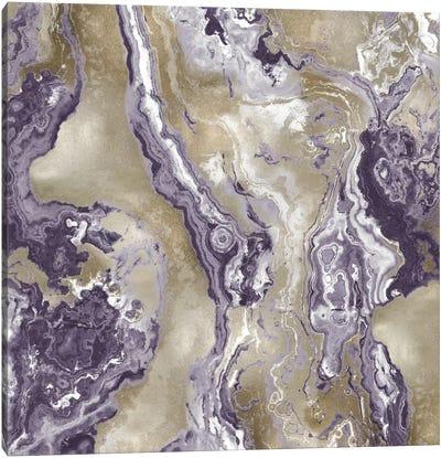 Onyx Amethyst Canvas Art Print