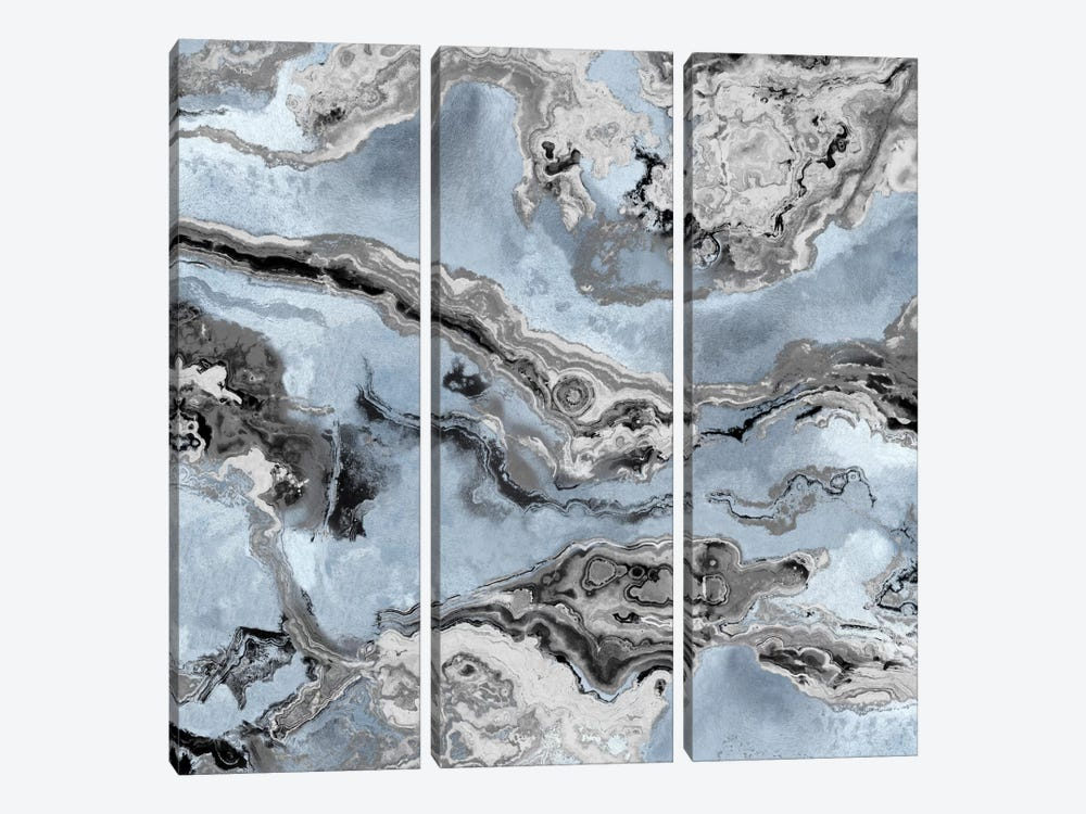 Onyx Blue by Danielle Carson 3-piece Canvas Wall Art