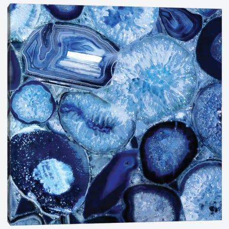 Agate In Blue II Canvas Print #DAC6} by Danielle Carson Canvas Art Print