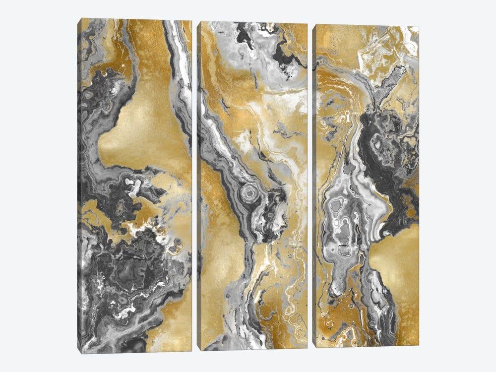 Onyx Grey by Danielle Carson 3-piece Canvas Art Print