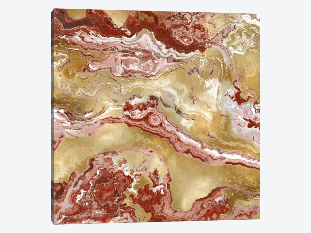 Onyx Red by Danielle Carson 1-piece Canvas Wall Art